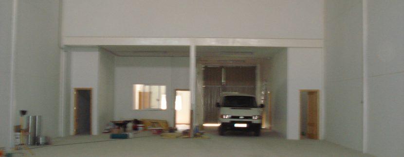 03 Plalna baja vista interior 11.5 m x 30 m (345 m. cuadrados)